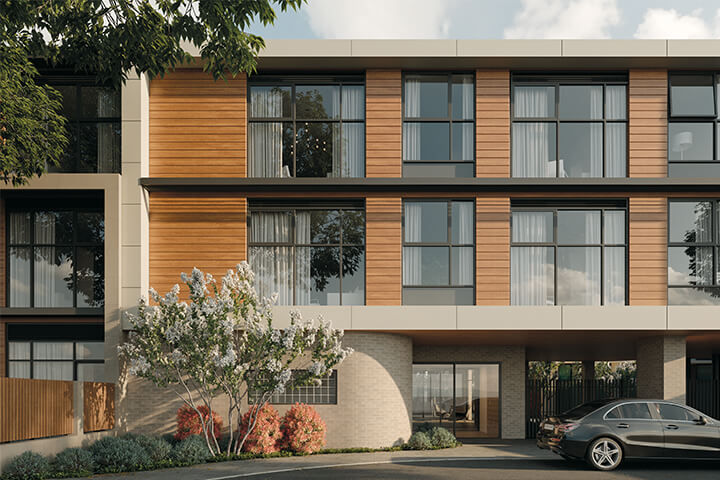 Exterior, Life Care Gaynes Park Suites